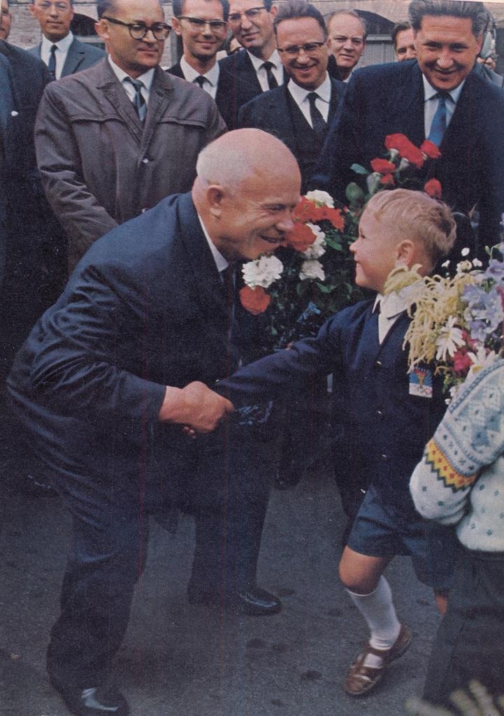 khrushchev in denmark - 1964