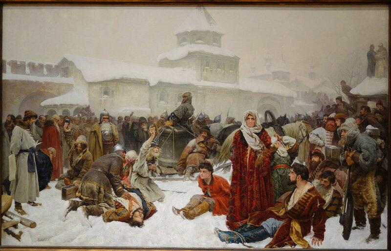 The_Fall_of_Novgorod_by_Klaudii_Vasilievich_Lebedev,_1891,_oil_on_canvas_-_Chazen_Museum_of_Art_-_DSC02351.JPG