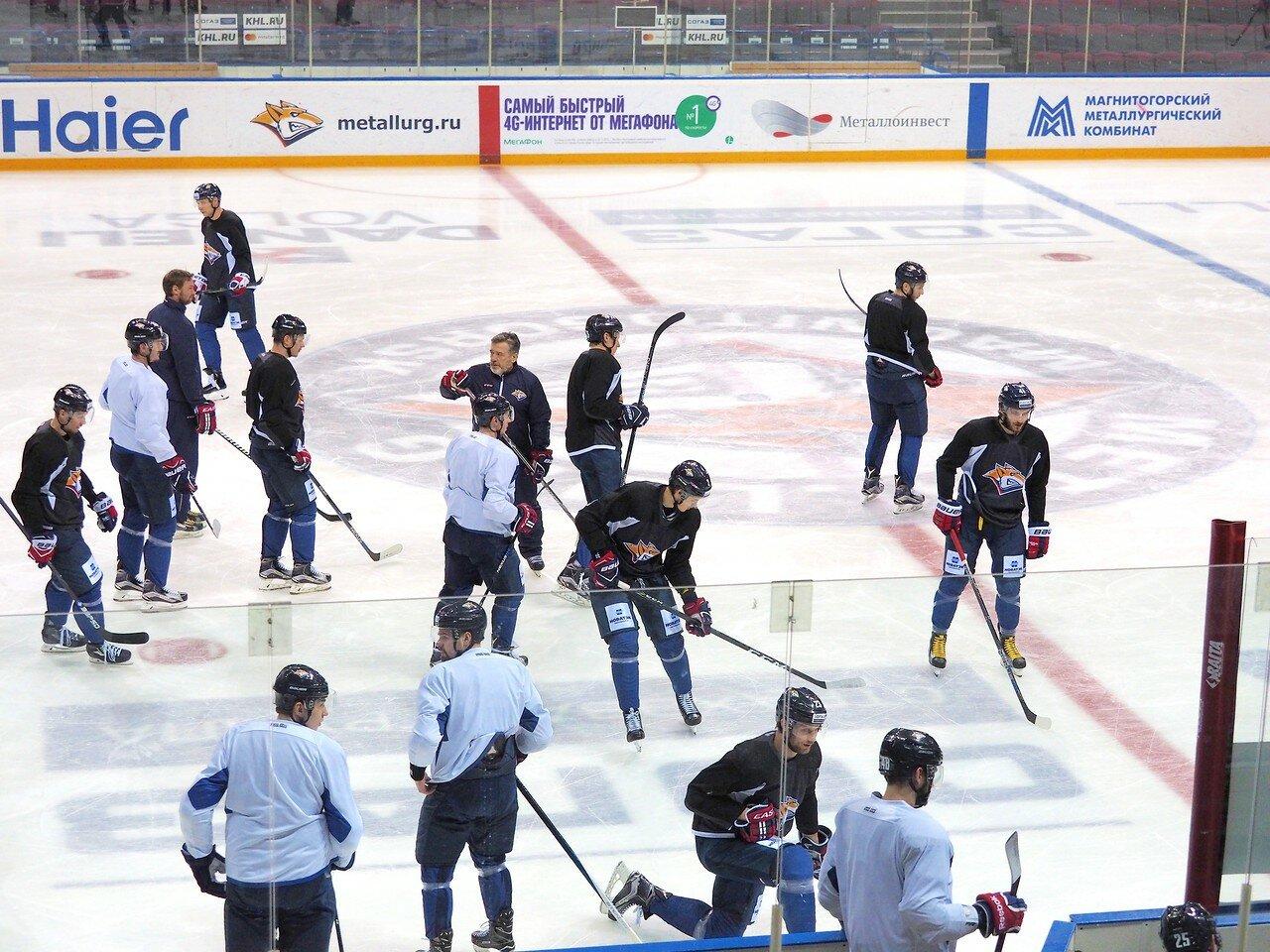 3 Открытая тренировка перед финалом плей-офф восточной конференции КХЛ 2017 22.03.2017