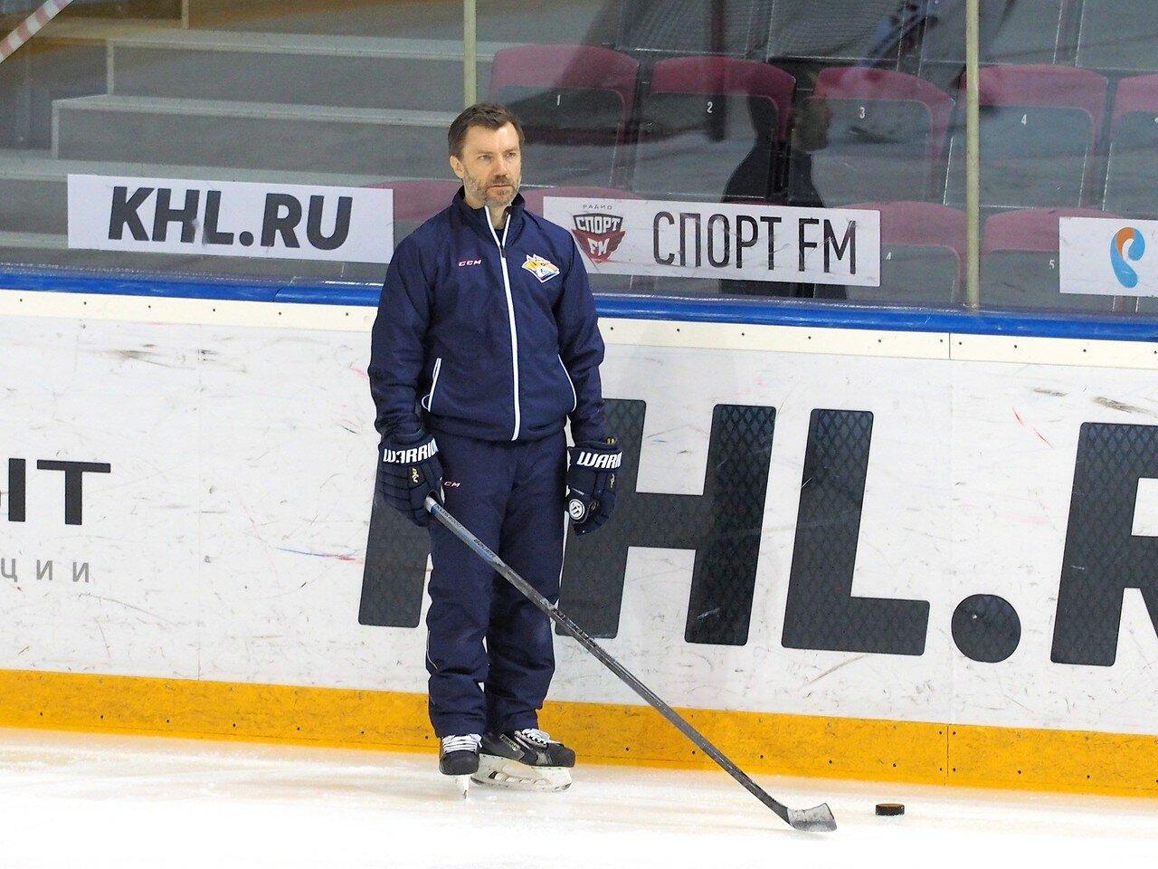 14 Открытая тренировка перед финалом плей-офф восточной конференции КХЛ 2017 22.03.2017