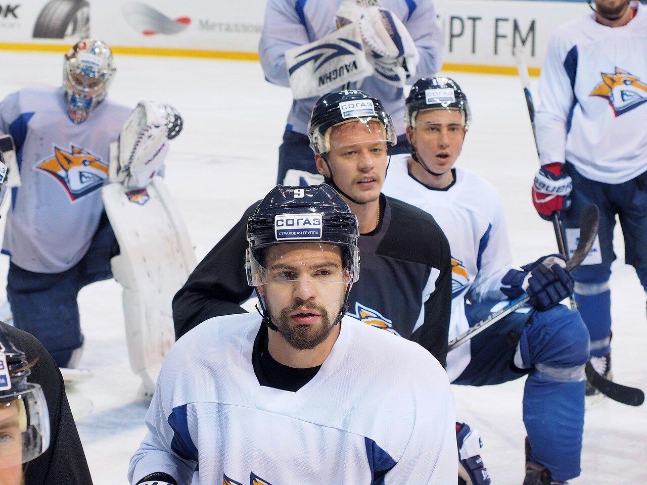 43 Открытая тренировка перед финалом плей-офф восточной конференции КХЛ 2017 22.03.2017