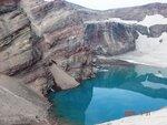 Озеро в кратере Вулкана Ксудач..JPG