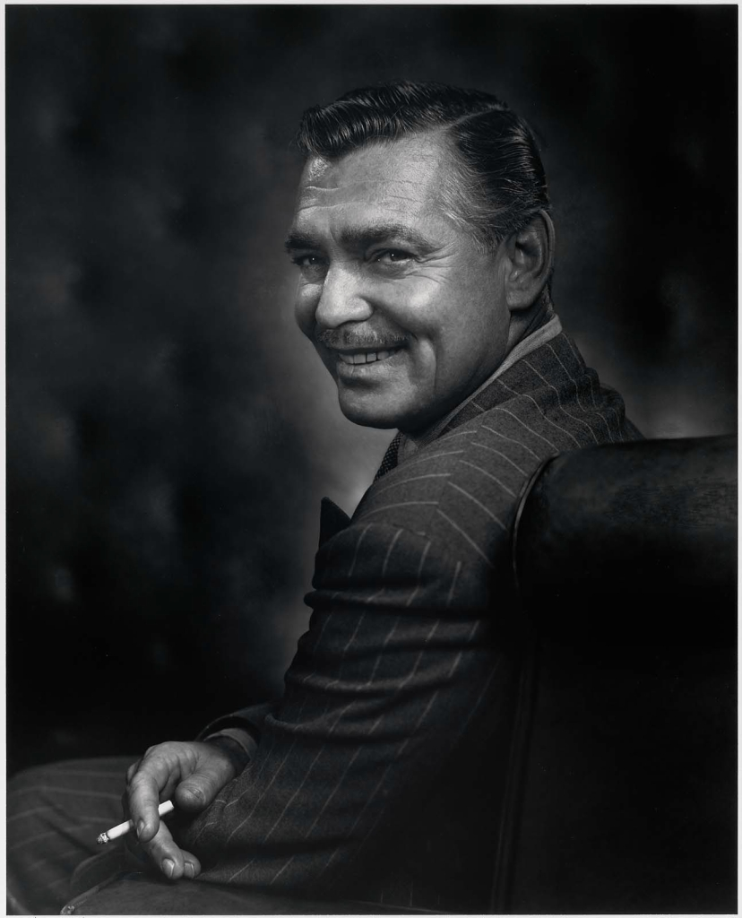 Кларк Гейбл1948 Юсуф Карш Канадский фотограф 1908-2002