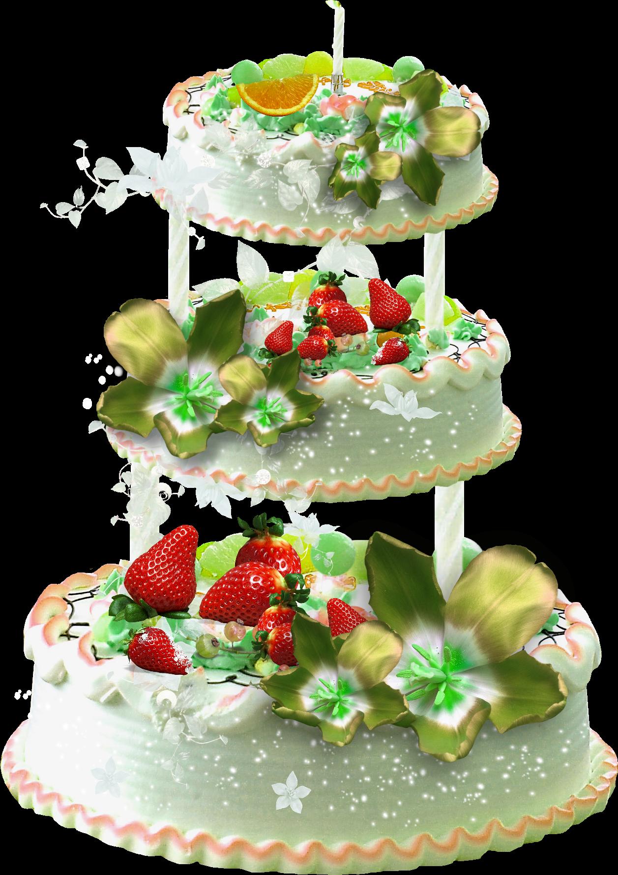 Картинки анимированный торт