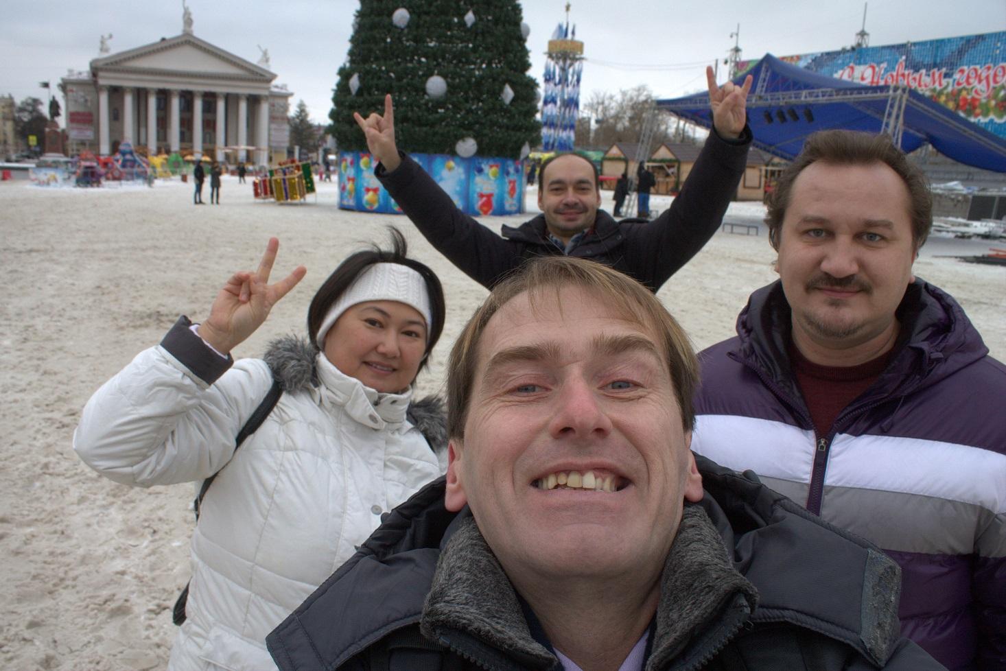 Поздравляем с Новым годом 2017 из Волгограда