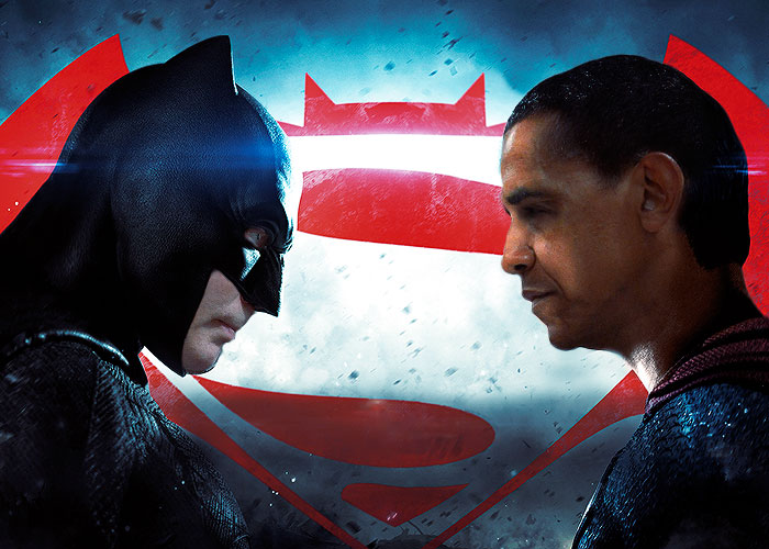Против Бэтмена.