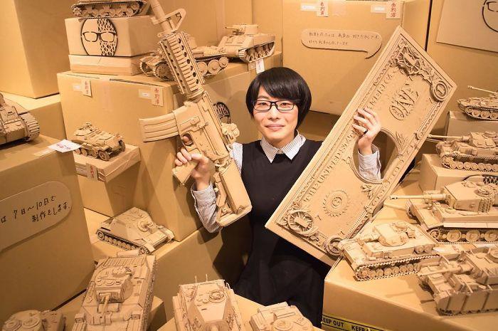 Мономи Оно и некоторые ее творения. Вот что значит руки из правильного места!