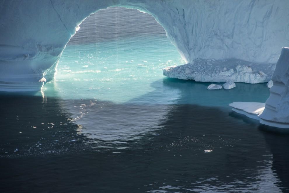 Стремительно тающие ледники Арктики в фотографиях экоактивистки Дианы Тафт (10 фото)