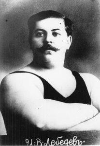 Портрет участника чемпионата И.В.Лебедева (дяди Вани).