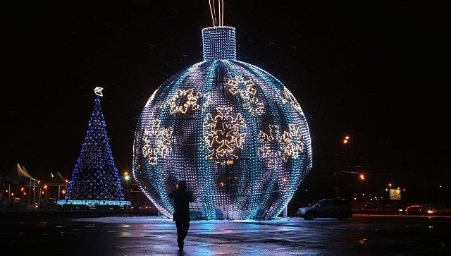 Новогодняя ночь вЕкатеринбурге будет тёплой