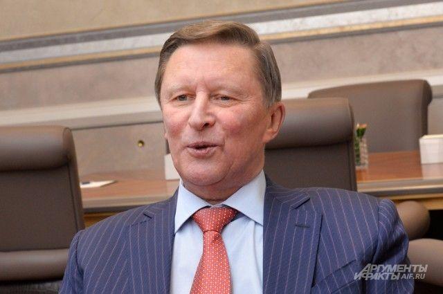 Иванов сказал шутку В.Путина про планы Германии отказаться от русского газа