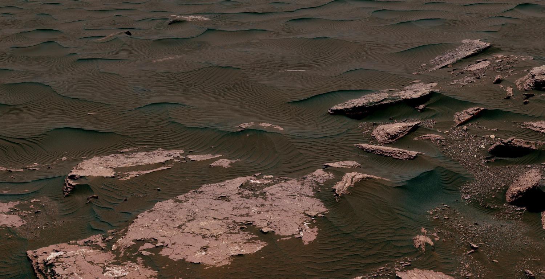 Марсоход заснял живую человекоподобную фигуру наКрасной планете