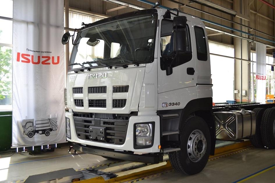 ISUZU запустил вУльяновске производство тяжелых фургонов