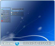 Windows 7 SP1 8 in 1 Blue by Putnik Updated(x86-х64) [1216]