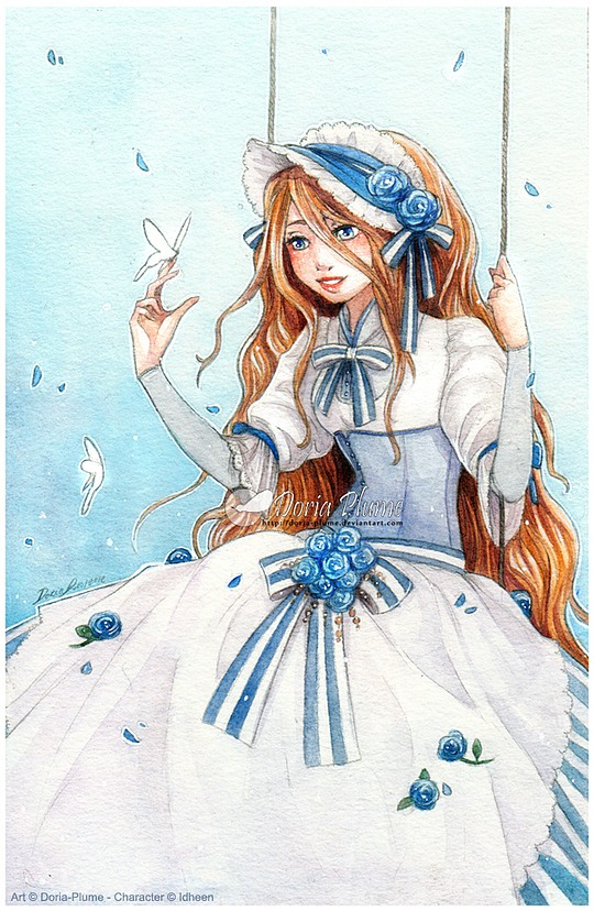 Manga Illustrations by Doria-Plume