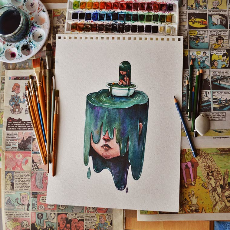 Art Snacks - Les illustrations de Maria Tiurina
