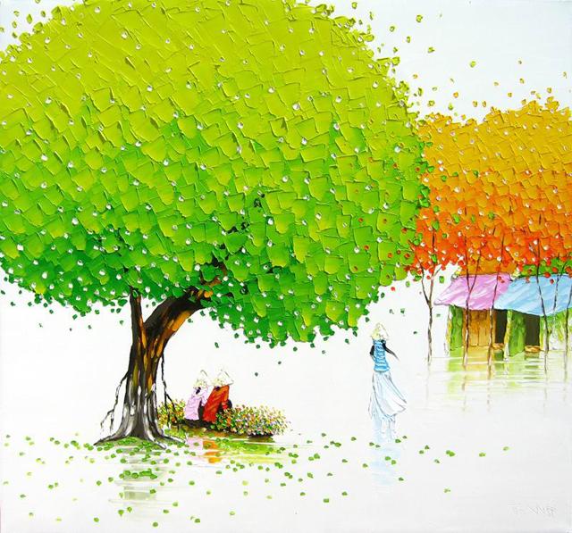 Vivid Artworks by Phan Thu Trang (11 pics)