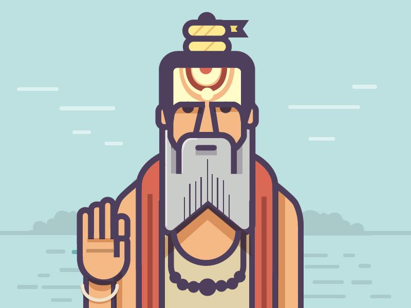 Indian Icons: Illustrations by Ranganath Krishnamani