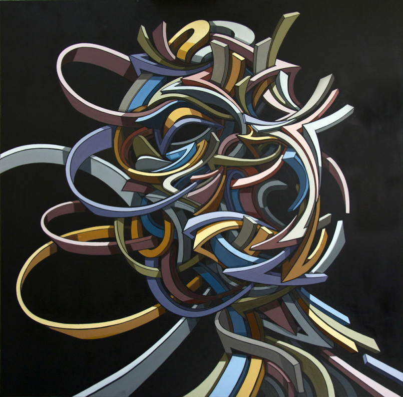 Shock Waves: Powerful Urban Paintings by Shaka