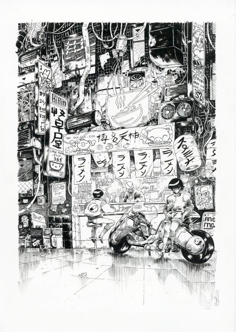 Tribute to Katsuhiro Otomo - 42 artists pay tribute to the master of manga
