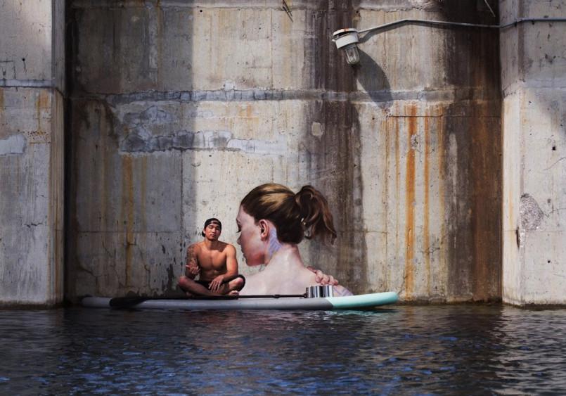 Reflections: Street Art by Hula