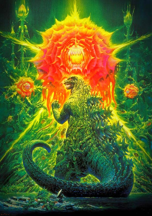 Star Wars et Godzilla - Les superbes affiches originales de Noriyoshi Ohrai
