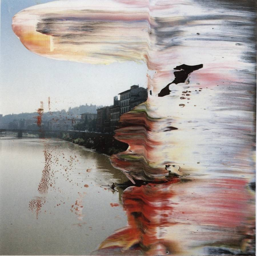 Abstract Paint Brushstrokes on Photographs (25 pics)