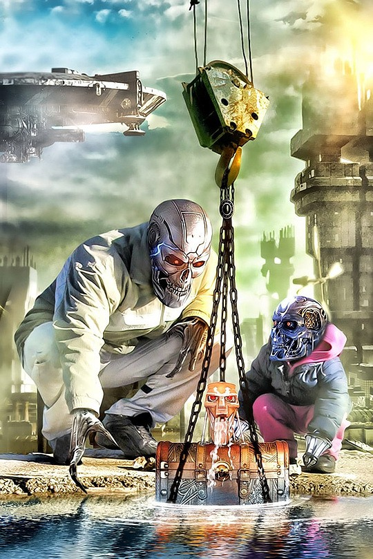 Original Digital Art by Saif Kratos