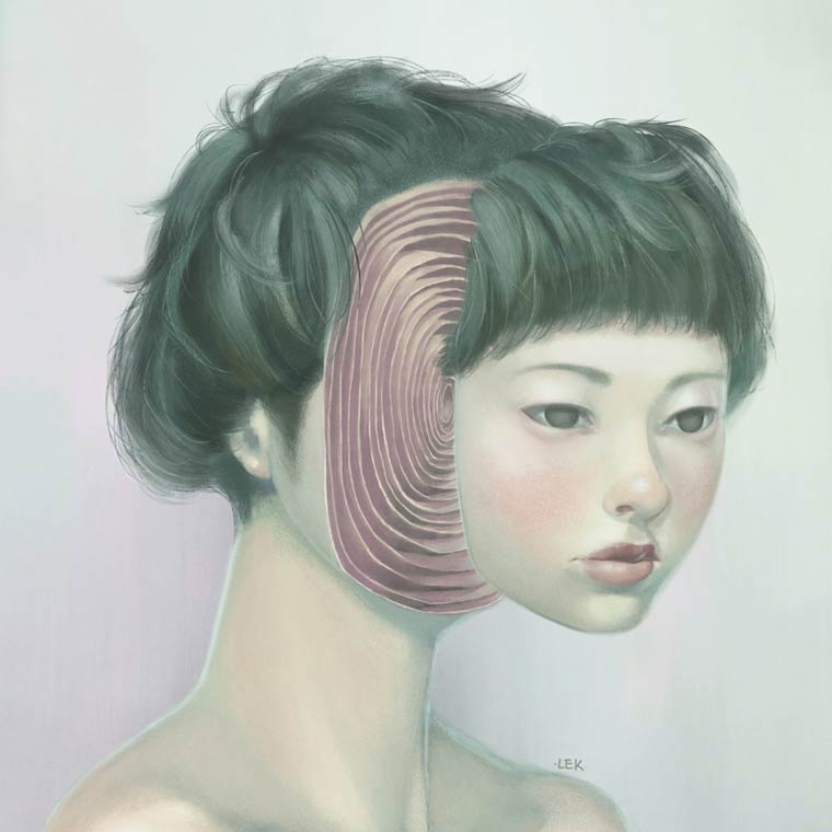 Anonymous - Les portraits de LEK Chan