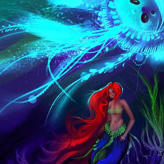Colorful Digital Art by Benjamin Cehelsky