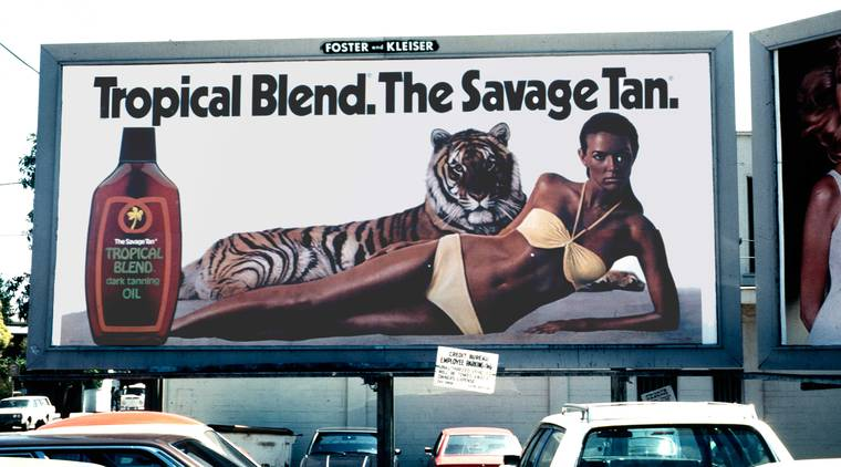 Hijacking advertising billboards in the 80s
