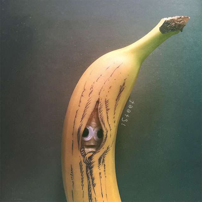 Banana Doodles Art by iSteef