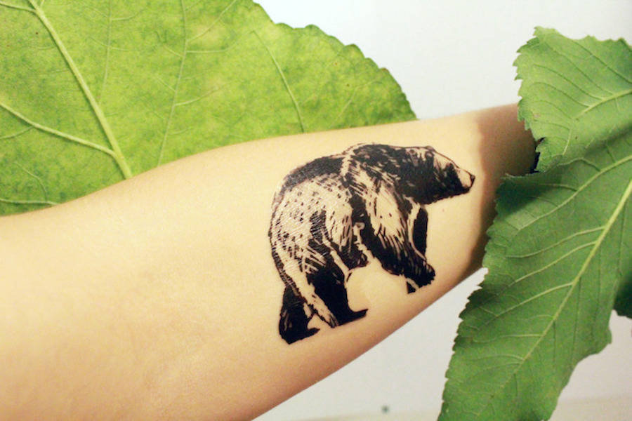 Cute Temporary Tattoos Paying Tribute to the Beauty of Nature (15 pics)