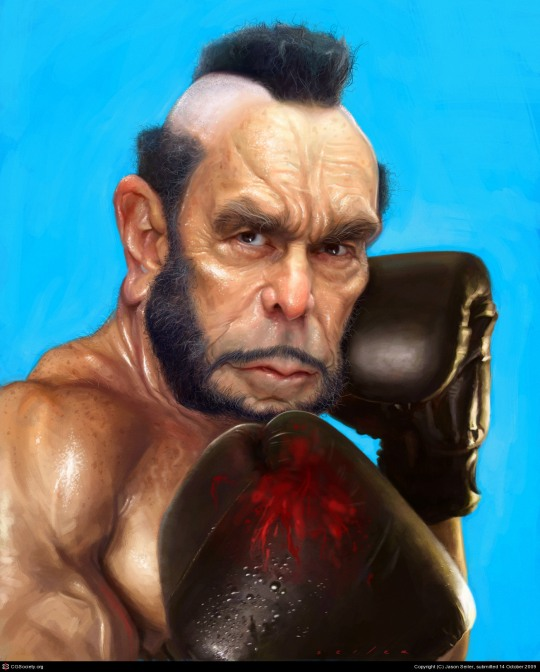 Digital Caricatures by Jason Seiler