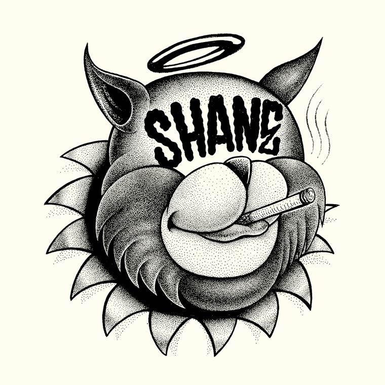 The Bullshitters - Les superbes illustrations monochromes de SHANE
