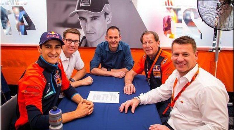 Марвин Маскуин продлил контракт с KTM до 2019 года