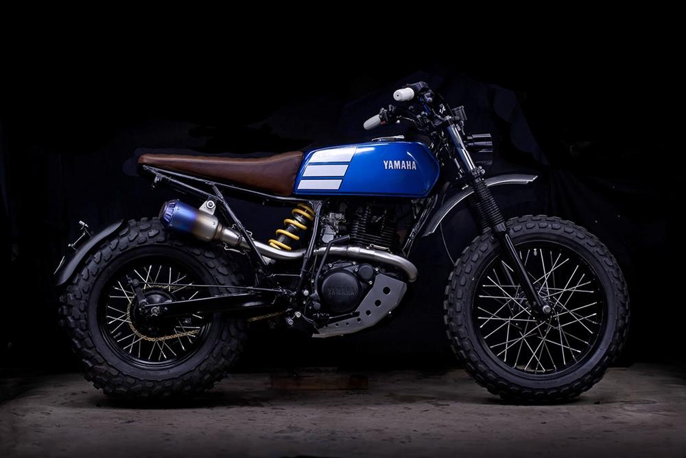 Lanesplitter Garage: кастом Yamaha TW200
