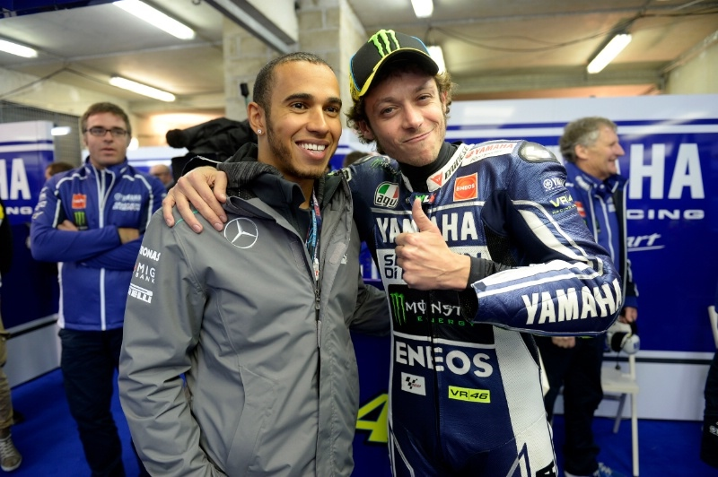 Льюис Хэмилтон хочет прокатиться на прототипе MotoGP