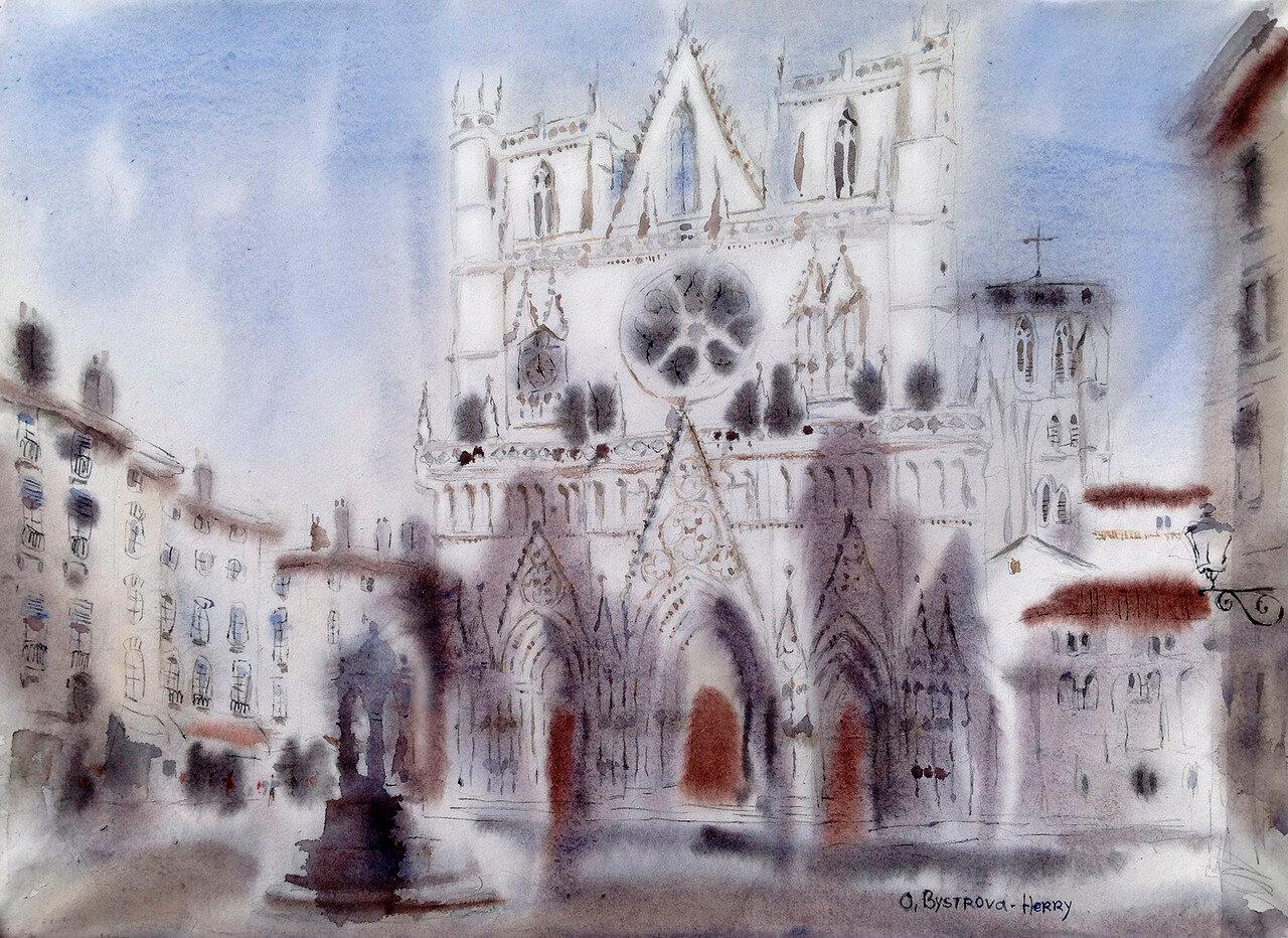 Lyon. Cathedrale St.Jean _