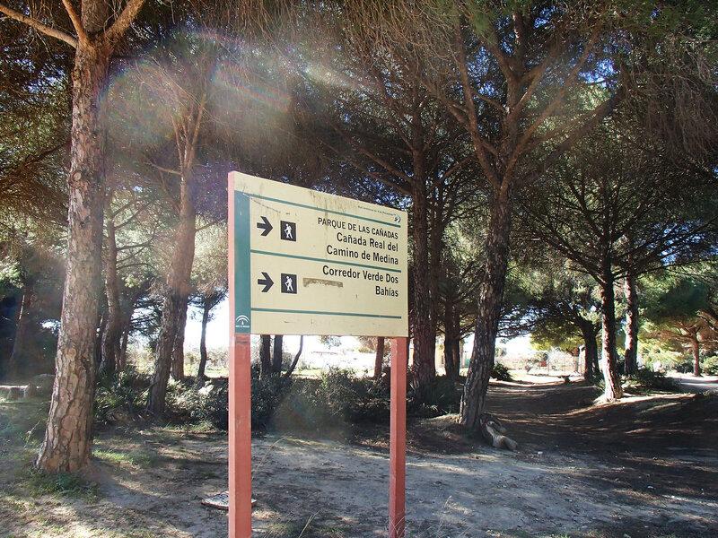 canada real del camino de medina corredor verde dos bahias