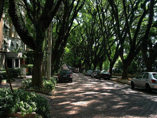 ул.Руа-Гонсалу-де-Карвальо. Порт-Алегри, Бразилия
