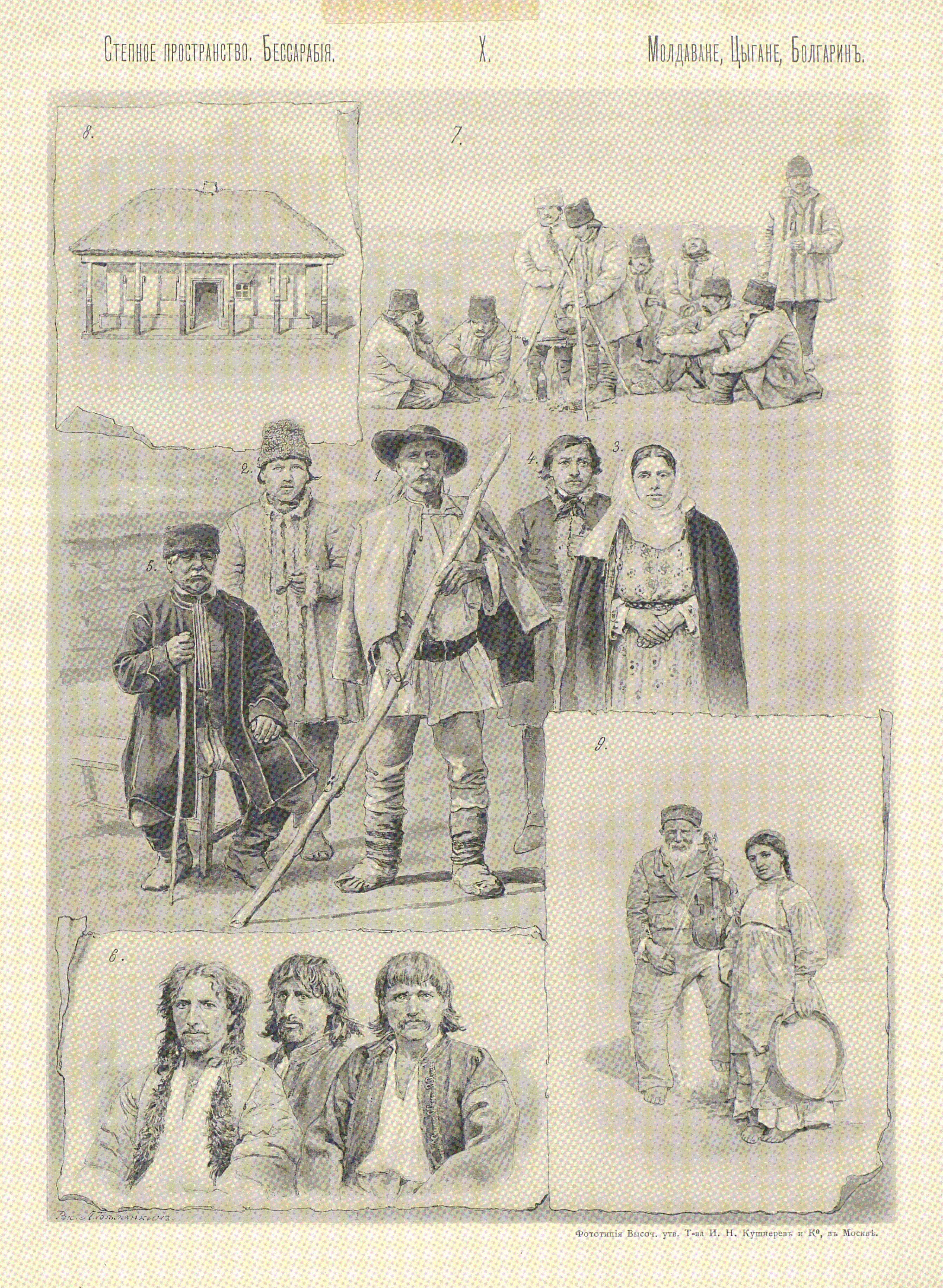 15. Молдаване, Цыгане, Болгарин
