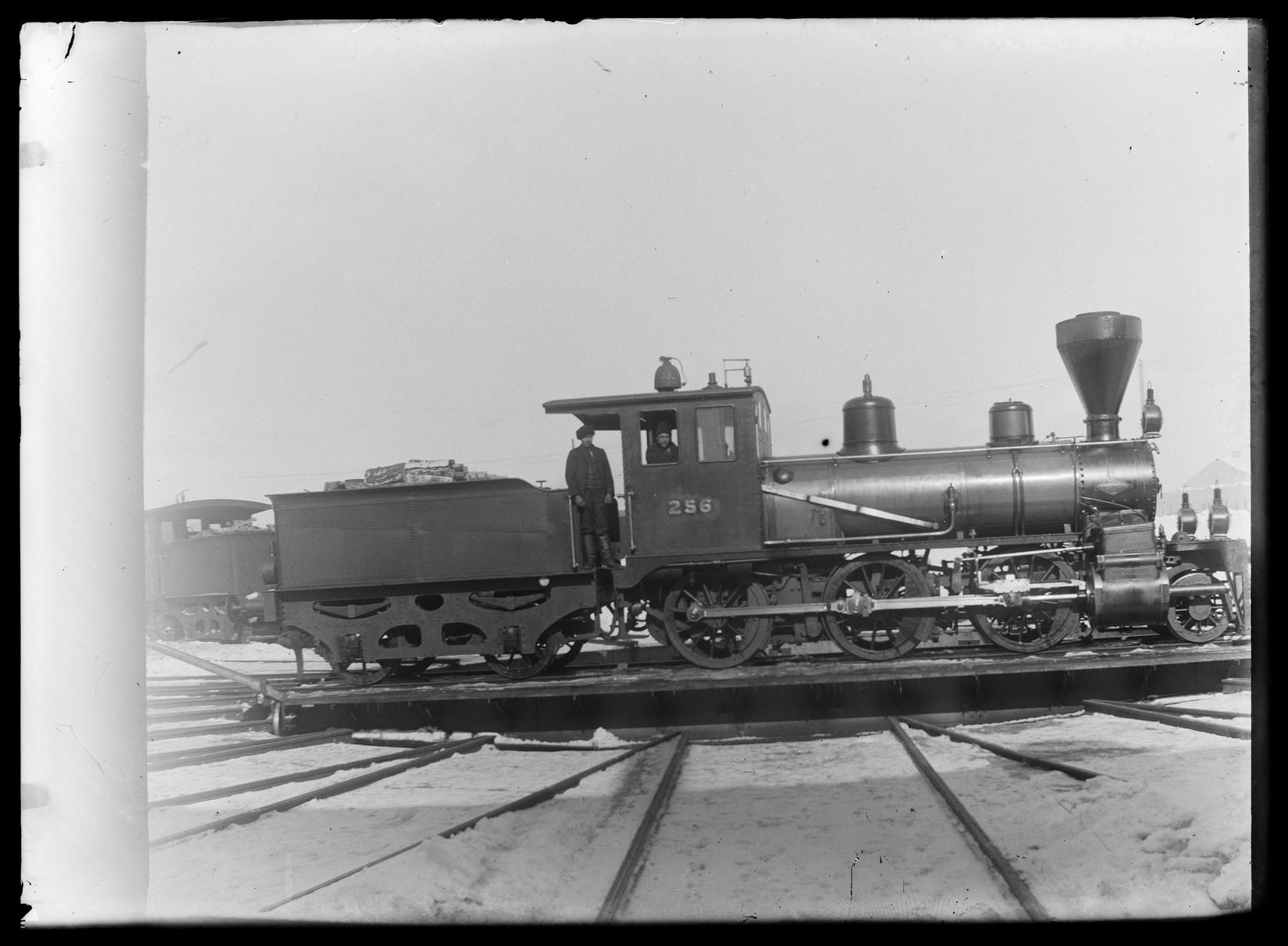 Паровоз серии G8 (позже SK6), № 256, изготовленный Richmond Locomotive Works, Ричмонд, штат Вирджиния, США, год выпуска 1898 года, отказались от использования в 1950