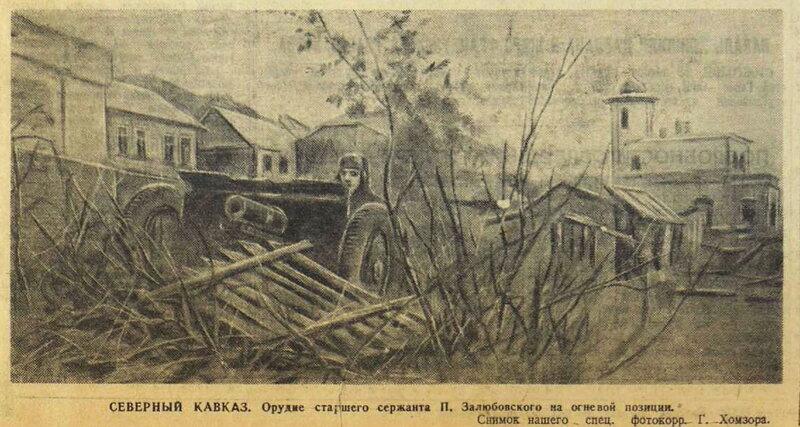 битва за Кавказ, «Красная звезда», 29 ноября 1942 года