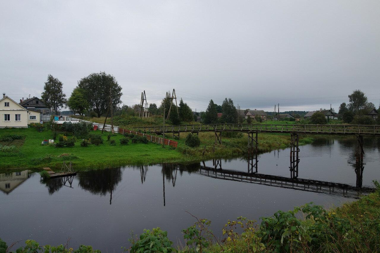 село Видлица, мостик