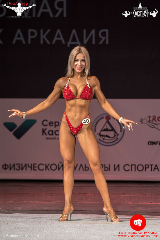 Кубок «Столица Каспия» по бодибилдингу 2017: Абсолютная в фитнес-бикини