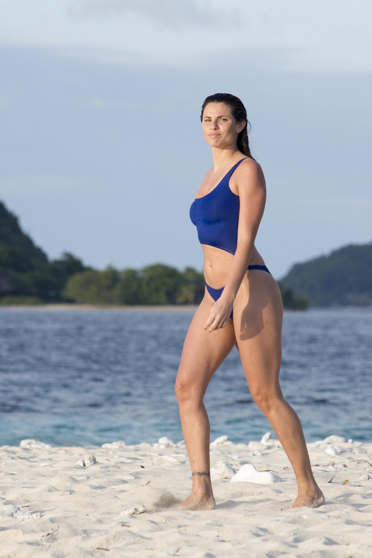Дайана Мелло на отдыхе в Гондурасе