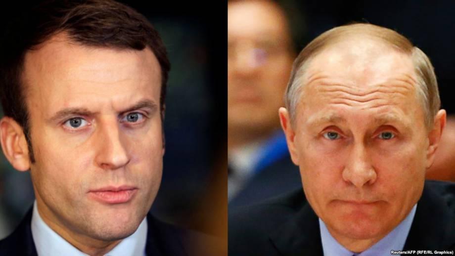 Кремль: встреча Путина и Макрона является возможностью «познакомиться»