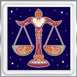 Магнит сувенирный Знак Зодиака Весы