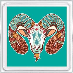 Магнит сувенирный Знак Зодиака Овен